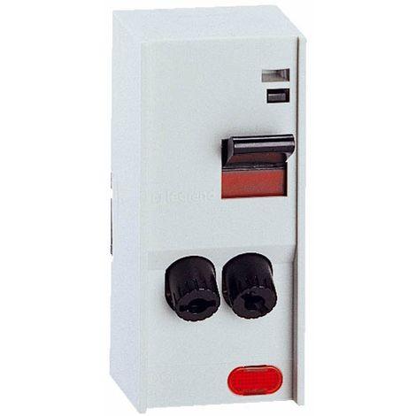 Interrupteur Pac - bipolaire - avec voyant - puissance maxi 4600 W