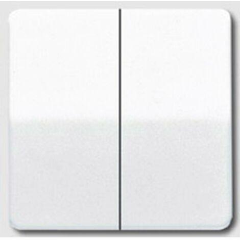 Kopp série Interrupteur Interrupteur Double Interrupteur Rivo Blanc Crème Interrupteur Crème
