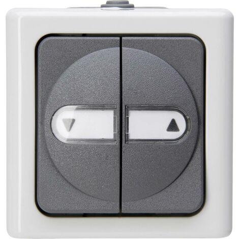 Interrupteur pour stores Kopp 561556004 BlueElectric gris