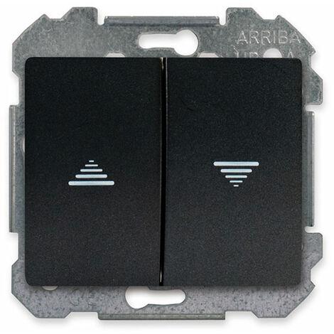 Interrupteur pour volet roulant Anthracite Delta IRIS - SIEMENS