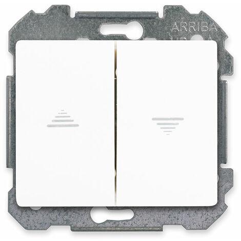 Interrupteur pour volet roulant Blanc Delta IRIS - SIEMENS