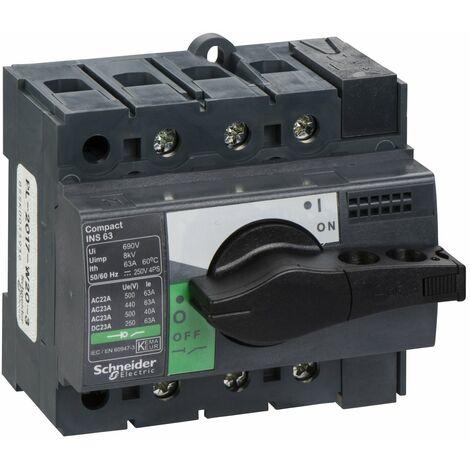 interrupteur sectionneur 3P Interpact INS40-160 40A schneider