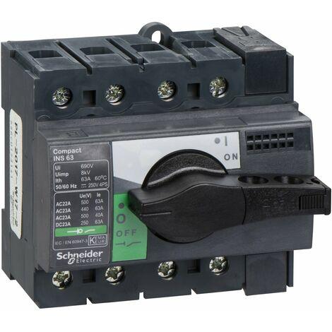 interrupteur sectionneur 4P Interpact INS40-160 40A schneider