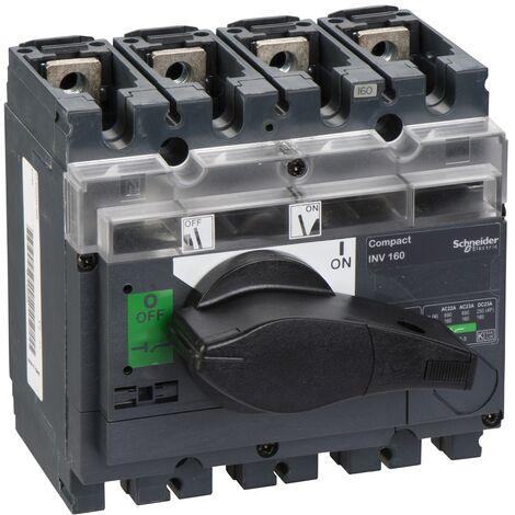 interrupteur sectionneur à coupure visible Interpact INV160 4P 160 A - 31165