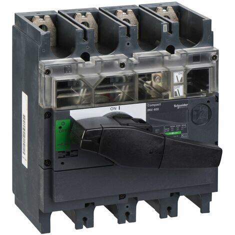 interrupteur sectionneur à coupure visible Interpact INV400 4P 400 A - 31171