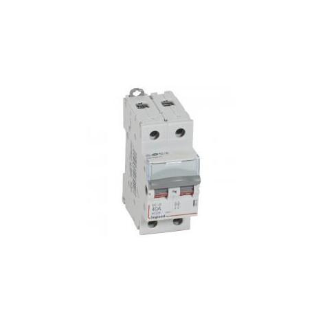 Interrupteur sectionneur Bipolaire 40A DX-IS 2P 400 V 1 M - 406440 - LEGRAND