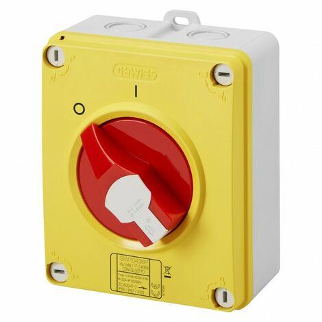 Interrupteur sectionneur de proximité 32A 4P