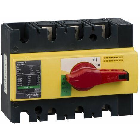 interrupteur sectionneur Interpact INS160 3P 160 A - 28928