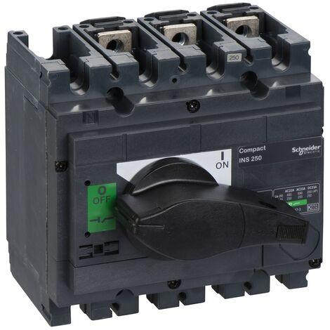 interrupteur sectionneur Interpact INS250 3P 250 A - 31106