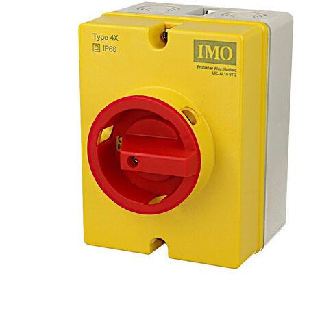 """main image of """"Interrupteur sectionneur rotatif IMO 20A 3P, en boitier"""""""
