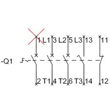 Interrupteur sectionneur Siemens 3LD2022-0TK13 1 pc(s)