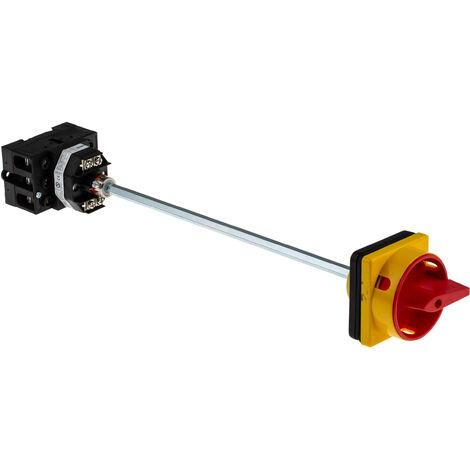 Interrupteur sectionneur tripolaire, 25 A, 11 kW