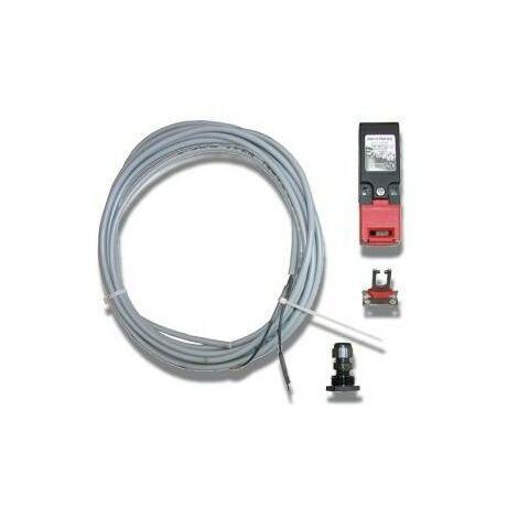 Interrupteur sécurité contact portillon porte de garage SOMMER - 3117.