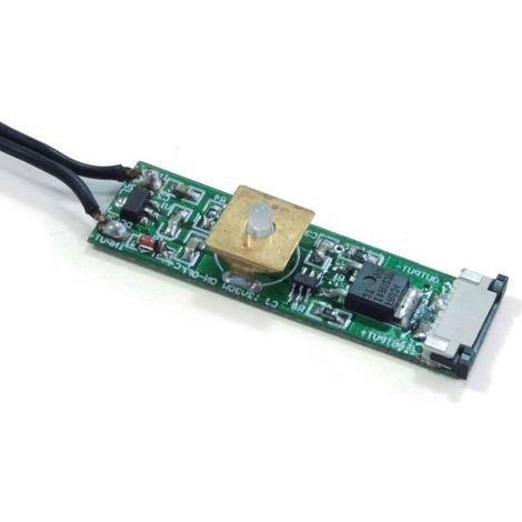 Interrupteur sensitif touch rolflex - : - Puissance : 30 W - Type d'éclairage : - - Longueur : 54 mm - Largeur : 14,8 mm - Hauteur : 8,8 mm - VOKIL - Hauteur : 8,8 mm