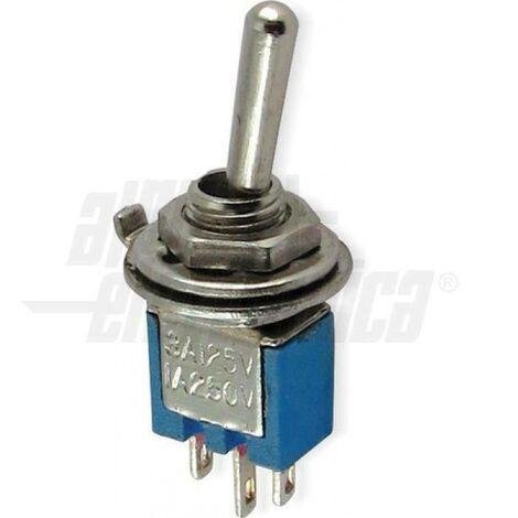 Interrupteur subminiature unipolaire à souder 310-002