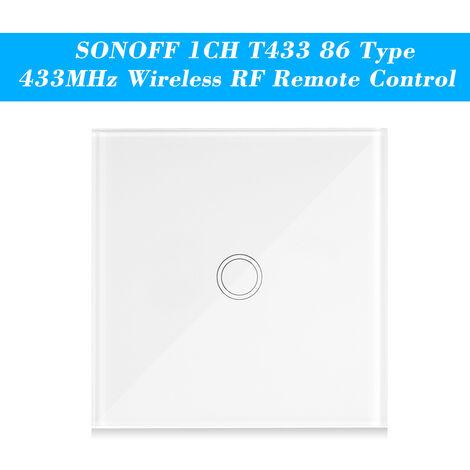 Interrupteur Tactile Intelligent, Commande D'Escalier a Deux Voies Sans Pile Alcaline 12V 27A