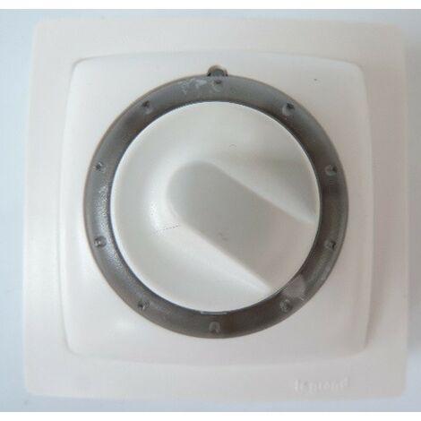 Interrupteur temporisé en saillie Lumineux Blanc complet avec cadre OTEO LEGRAND 097346
