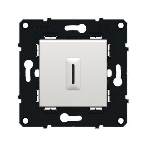 Interrupteur temporisé sans neutre 250V Espace Évolution - Blanc