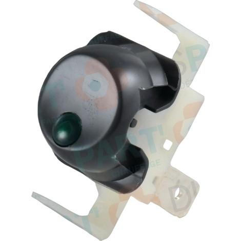 Interrupteur unipolaire à voyant 2000 Réf. F3AA40523 FRISQUET