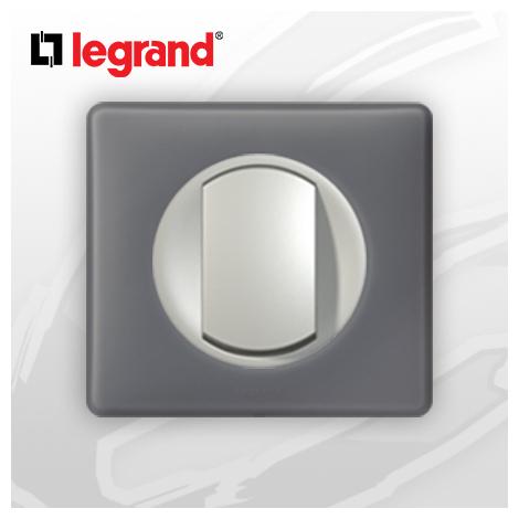 interrupteur Va-et-vient complet Legrand Celiane Schiste Poudré (doigt large)