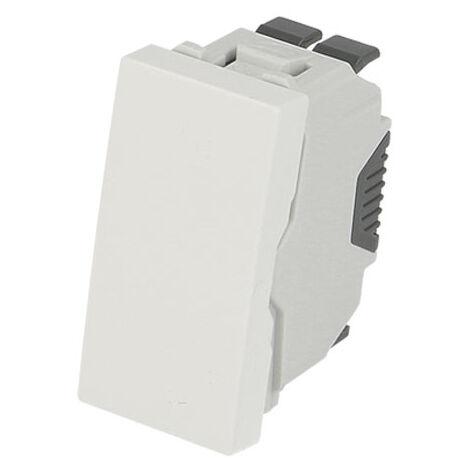 Interrupteur va-et-vient demi module Efapel 45x45
