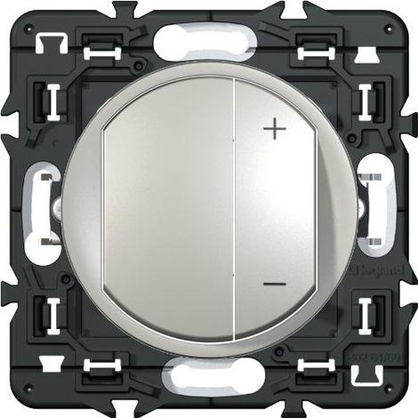 Interrupteur variateur Céliane - 300W - Titane
