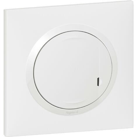 Interrupteur variateur connecté (Ø neutre) Dooxie Netatmo Blanc / Legrand