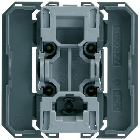 Interrupteur va&vient gallery avec enjoliveur blanc 2 modules carton de 50 (WXF001B50)