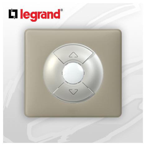 Interrupteur Volet-Rolant complet Legrand Celiane Argile Poudré