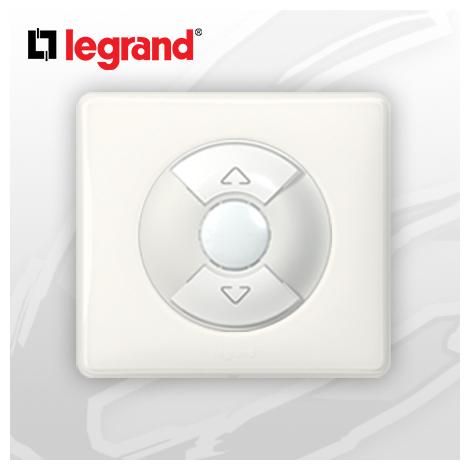 Interrupteur Volet-Rolant complet Legrand Celiane Blanc Glossy Yesterday