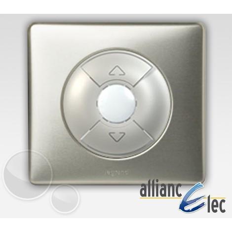 "main image of ""Interrupteur volet roulant store Legrand celiane titane"""