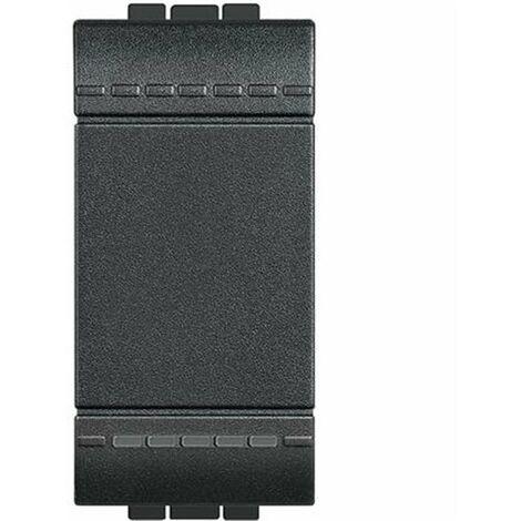 Interruptor estrecho Bticino serie Livinglight L4001A antracita
