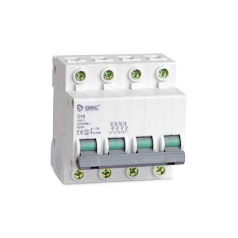Interruptor automático 4P 40A curva C GSC 0403667