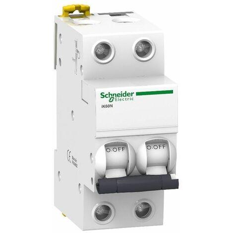 Interruptor Automatico K60N 2P 20A Schneider A9K17220