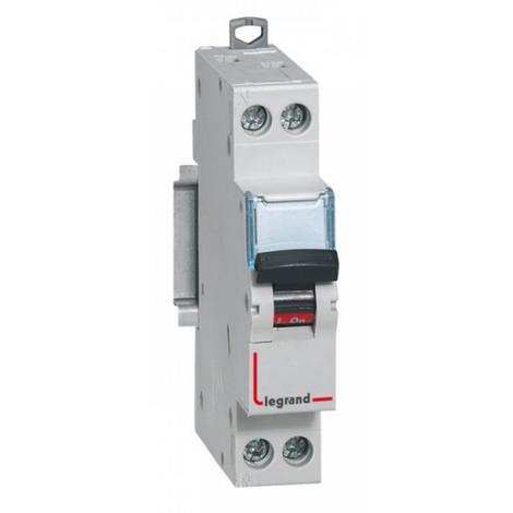 Interruptor automático magnetotérmico 1 polo 6A (Legrand SI5SL61067)