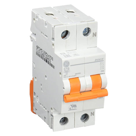 Interruptor automático MAGNETOTERMICO 1P+N 10A