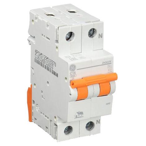 Interruptor automático MAGNETOTERMICO 1P+N 16A