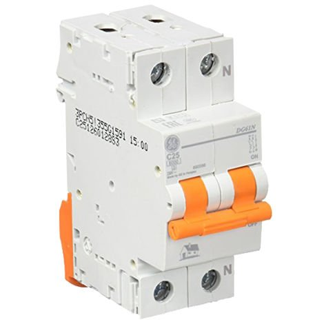 Interruptor automático MAGNETOTERMICO 1P+N 25A