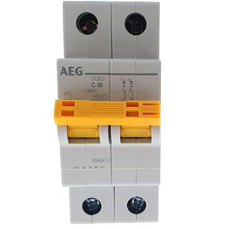 Interruptor automático MAGNETOTERMICO 2P 10A