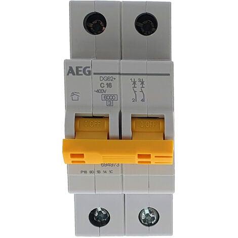 Interruptor automático MAGNETOTERMICO 2P 16A