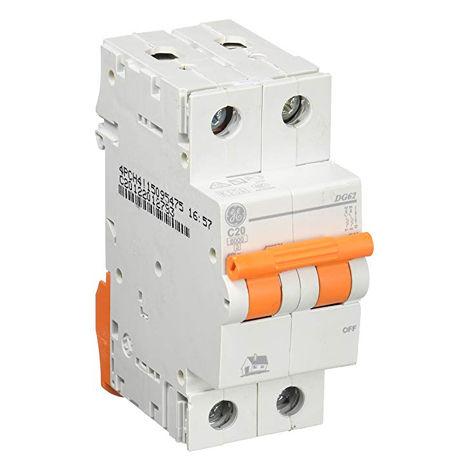 Interruptor automático MAGNETOTERMICO 2P 20A
