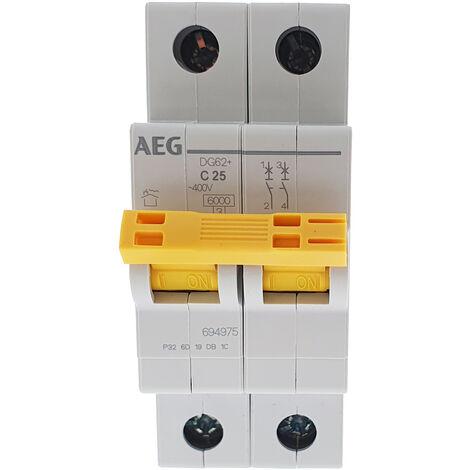 Interruptor automático MAGNETOTERMICO 2P 25A
