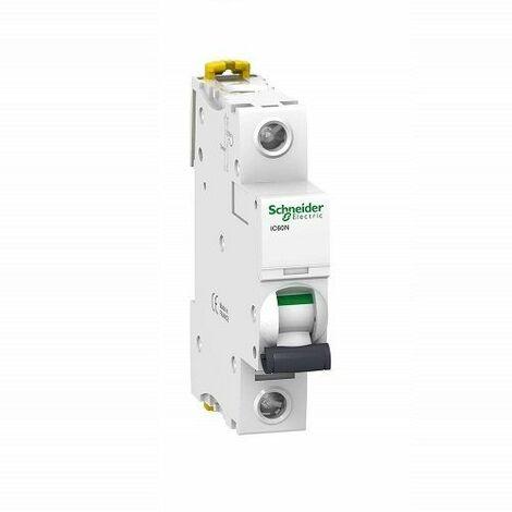 Interruptor automatico magnetotermico iC60N - 1P Blanco 20 A