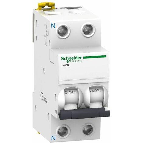 Cablepelado/® Interruptor automatico industrial 1P-6kA 20 A Blanco
