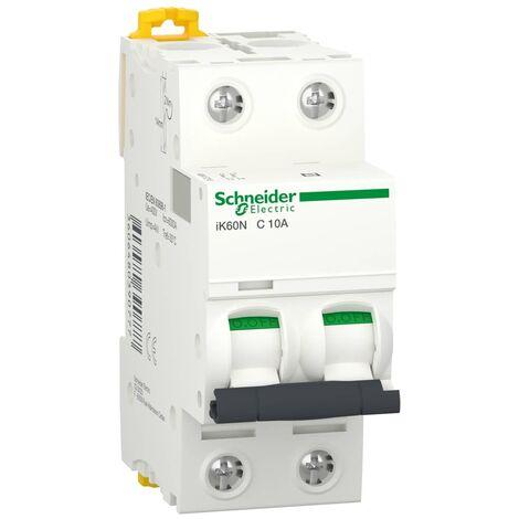 Interruptor automatico magnetotermico - iK60N - 2P 16 A Blanco