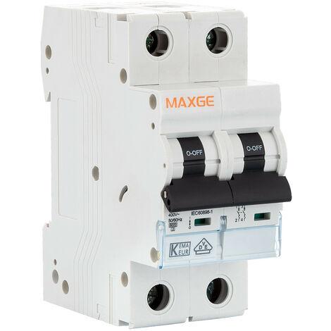 Interruptor Automático Residencial 2P-6kA 6-63A
