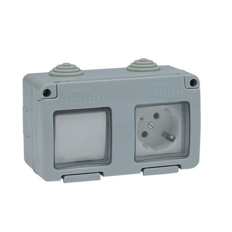 Interruptor Base Tt estan Ip55 - FAMATEL - 19033 - 16 AMP
