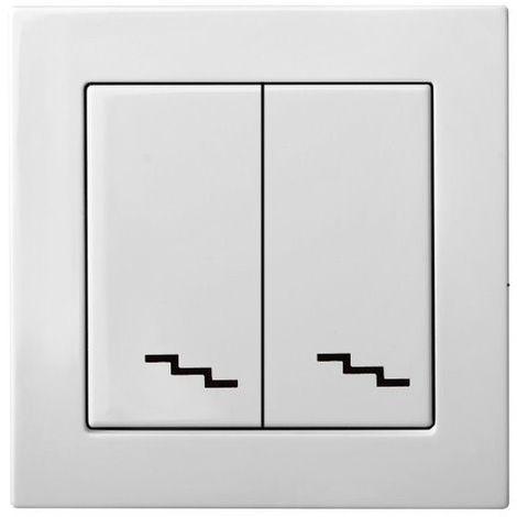 interruptor bidireccional bidireccional de montaje empotrado, sin marco