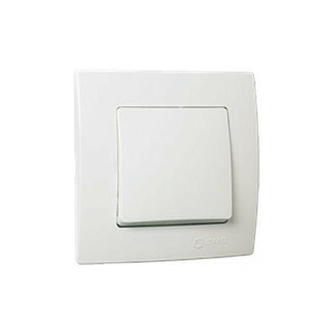 Interruptor blanco Lillium Natural 32001001