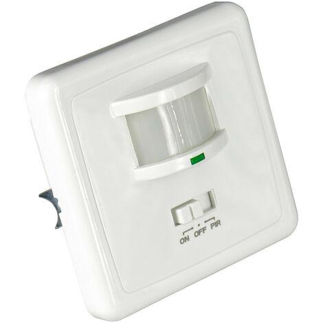 Interruptor con Sensor Infrarojo de Movimiento y Sensor Crepuscular